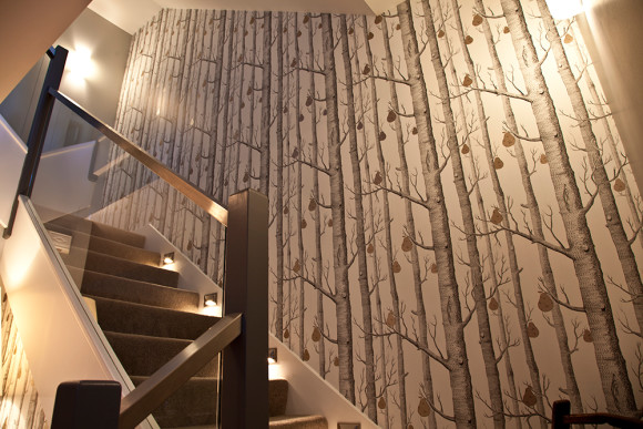 Birch Tree Stairwell Up