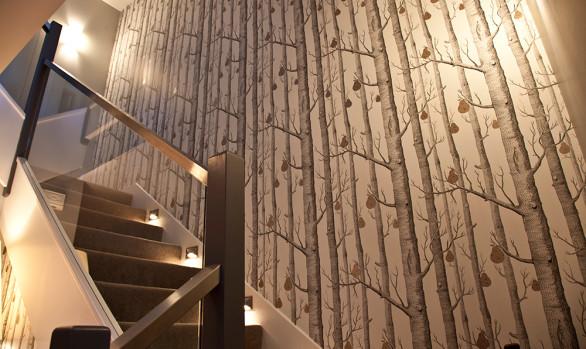 Birch Tree Stairwell Up