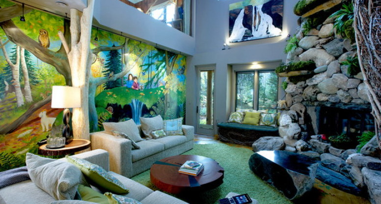 jungle living room four reasons why your office space needs custom wall 10752