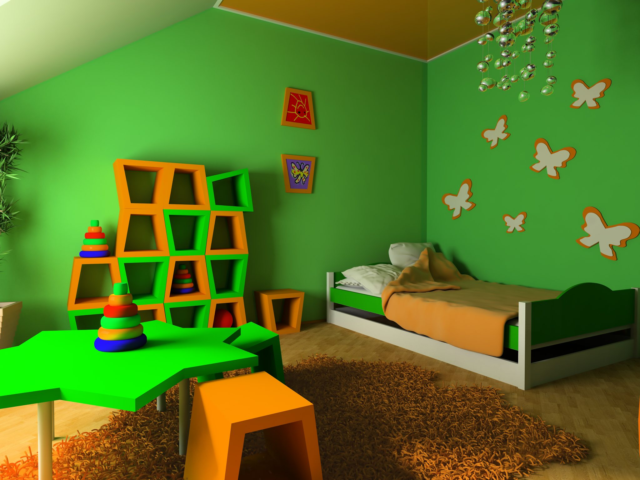 Fantastic wallpaper ideas for children s bedroom for Children s bedroom ideas