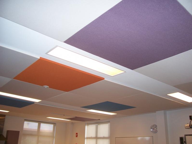 Acoustic Panel Fabrics Wallpaper Installation